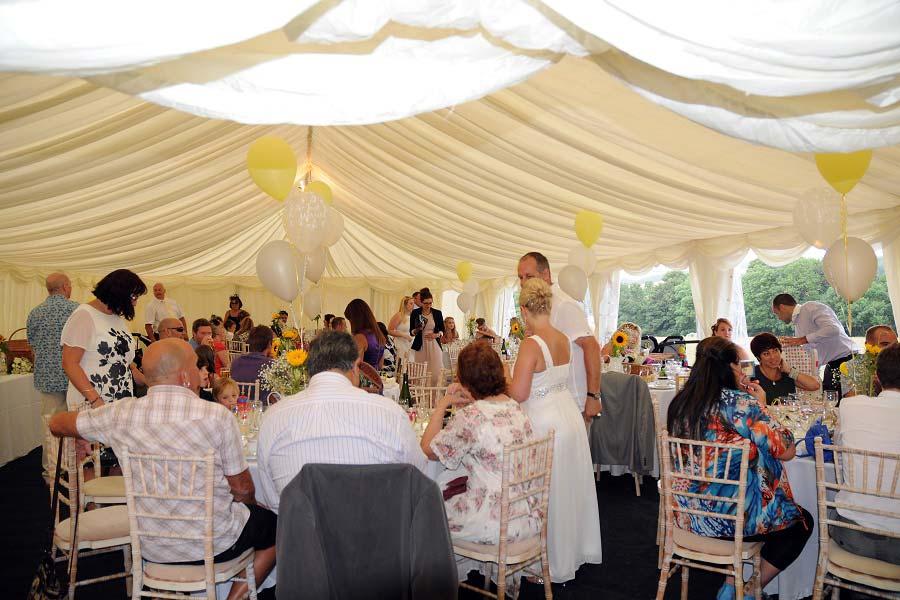 wedding venue sussex marquee