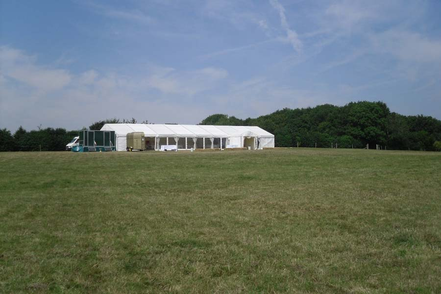 wedding venue sussex marquee