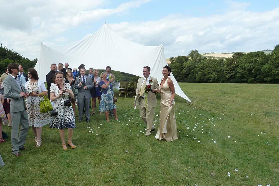 wedding venue sussex stretch tent