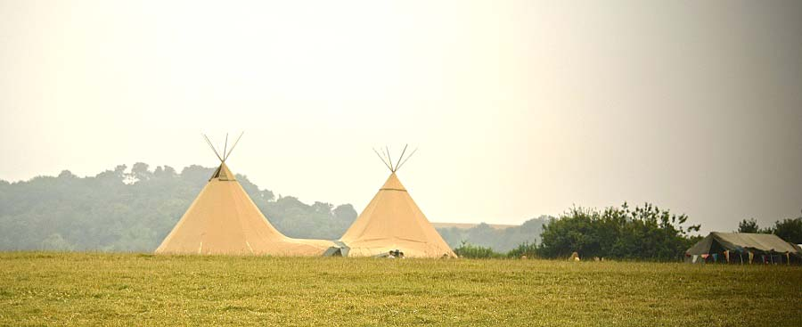wedding venue sussex teepee