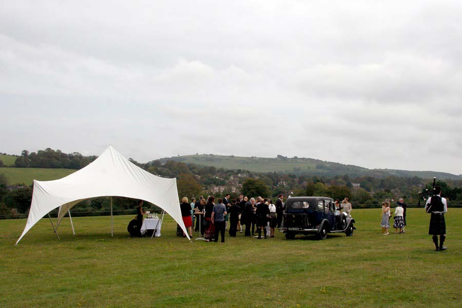 wedding venue sussex stretch tent
