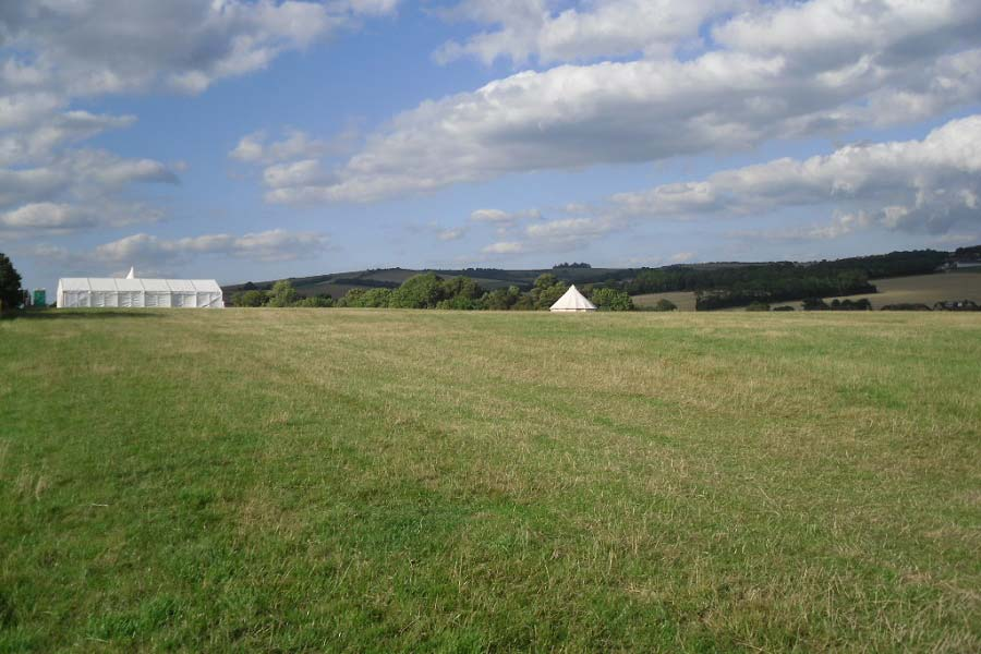 wedding venue sussex bell tent